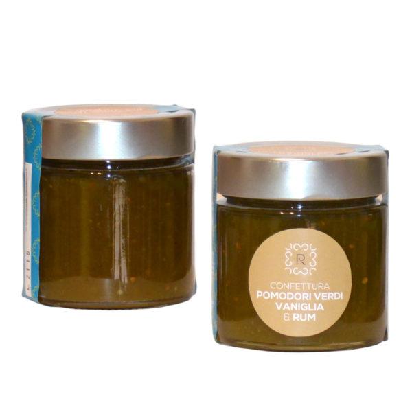 Confettura di Pomodori Verdi, Vaniglia e Rum 250gr